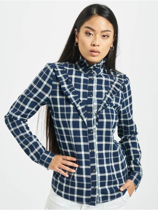 Only Koszule onlJaden Frill Check niebieski