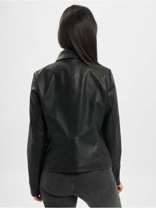 Only Kurtki przejściowe onlMelisa Faux Leather czarny