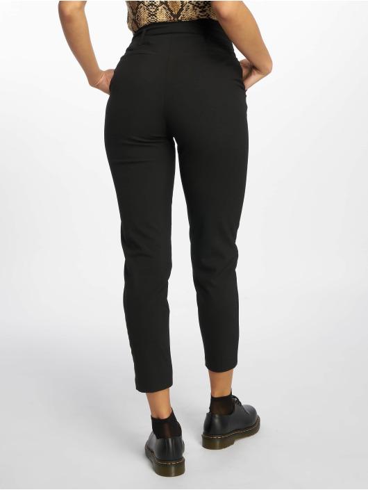 Only Látkové kalhoty onlNicole Paperbag čern