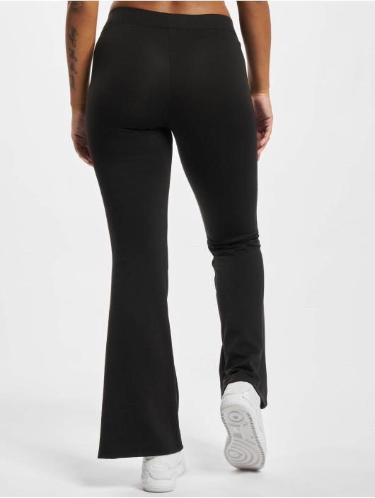Only Látkové kalhoty Onlfever Stretch Flaired čern