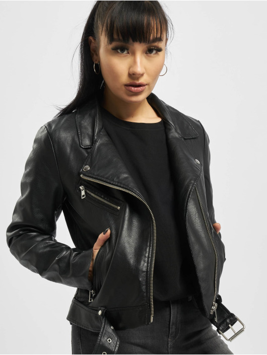 Only Leather Jacket onlWilma black