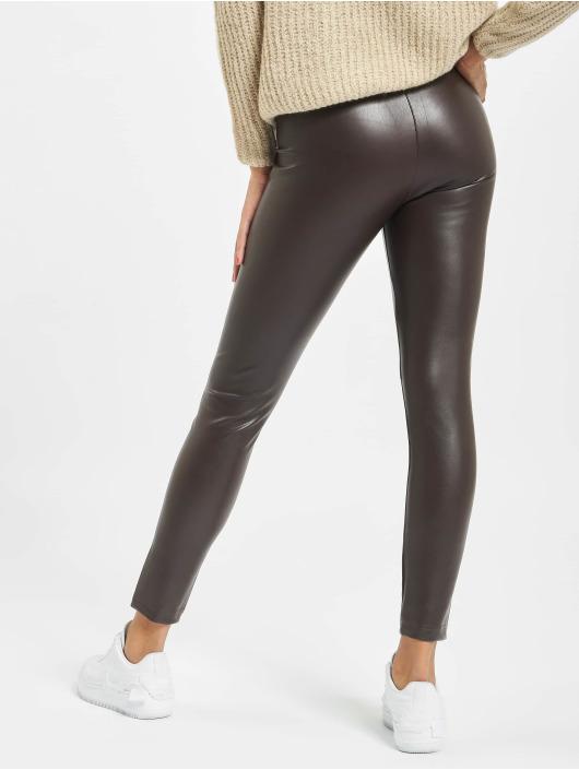 Only Legging onlSuper-Star PU braun