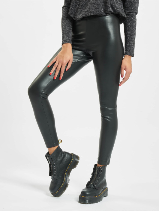 Only Legging onlSuper-Star PU schwarz