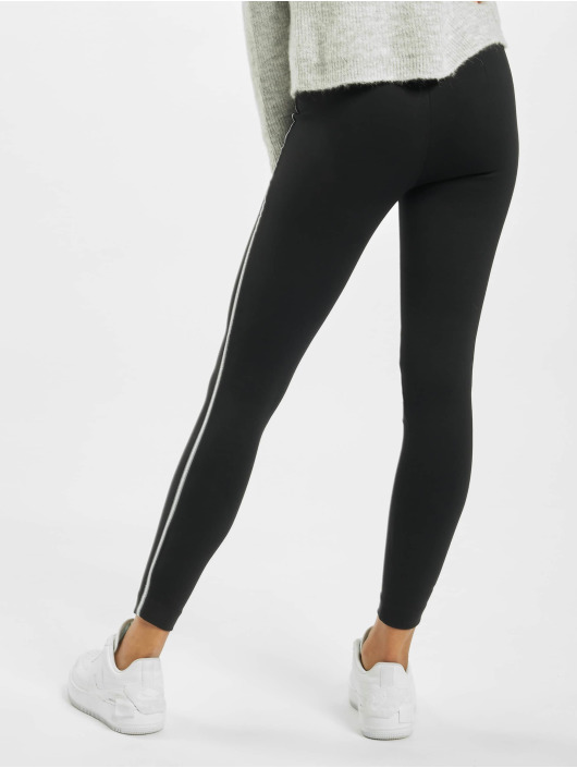 Only Legging onlTia Mid Waist Ankle Panel schwarz