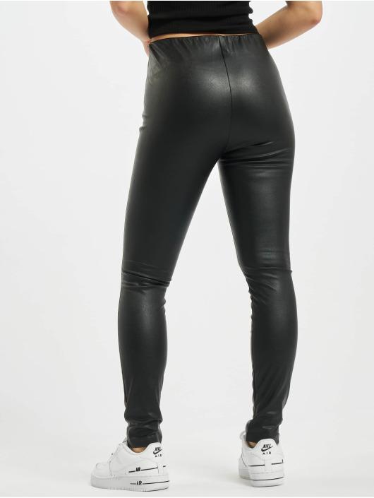Only Legging onlRachel Faux Leather schwarz