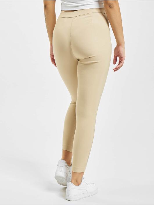 Only Leggings/Treggings onlJamila High Waist Zip Ankle brown