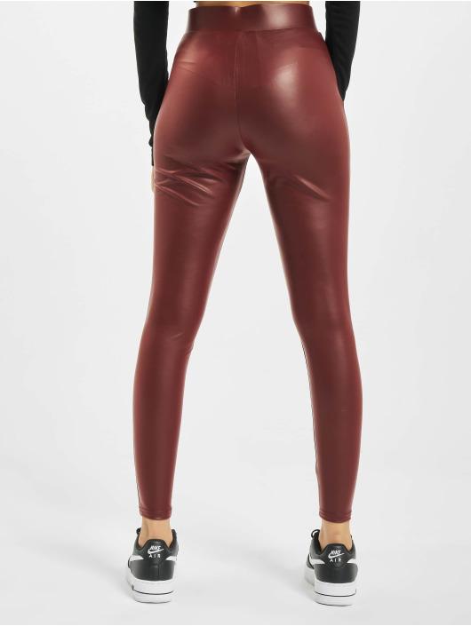 Only Leggings/Treggings onlCool Coated Noos czerwony