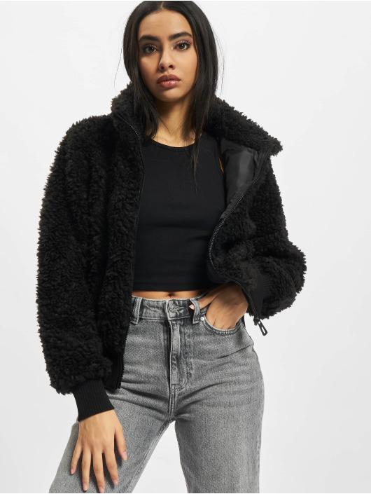 Only Lightweight Jacket Ellie Sherpa black