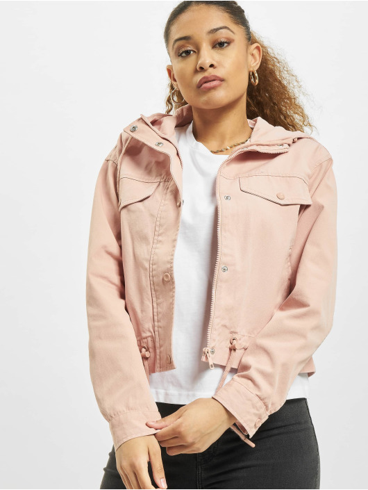 Only Lightweight Jacket onlAlly Life Short Canvas rose