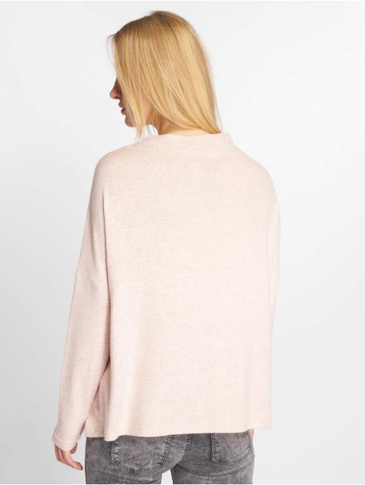 Only Longsleeve onlKleo Plain Knit rosa