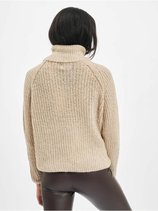 Only Maglia onlVega Wool Knit beige