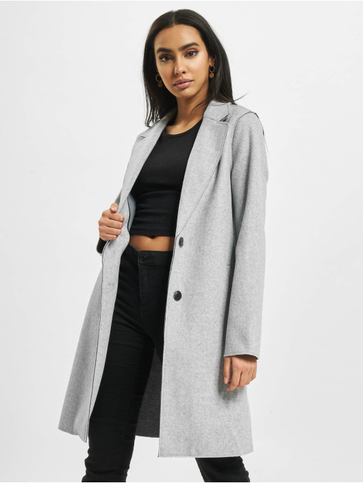 Only Manteau onlCarrie Bonded Noos gris