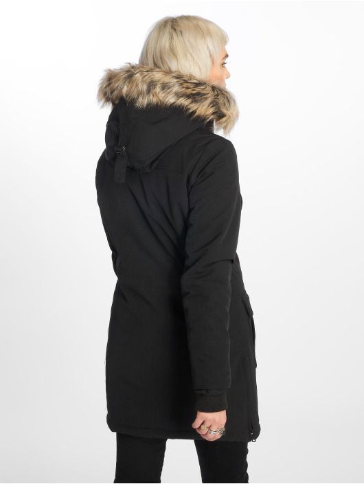 Only Manteau onlNew Sally Long Nylon noir
