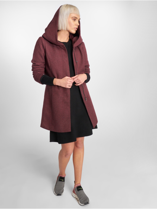 Only Manteau onlSedona rouge