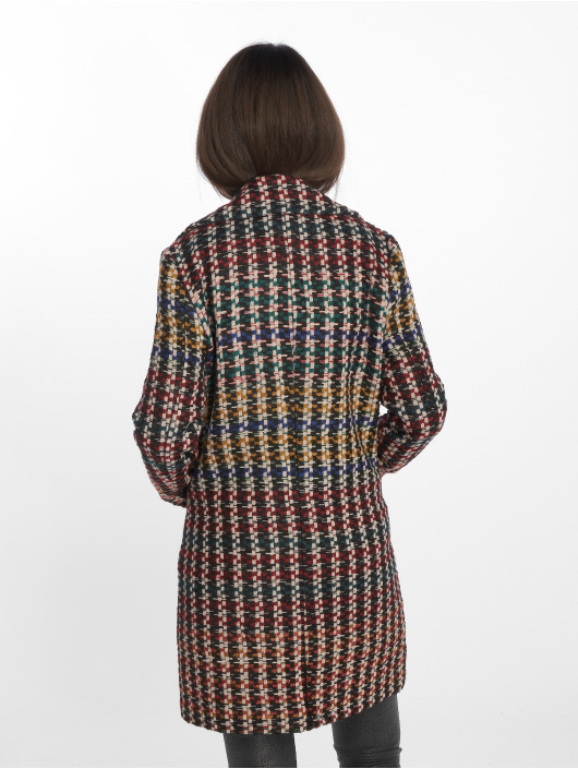 Only Manteau onlMelrose Check rouge