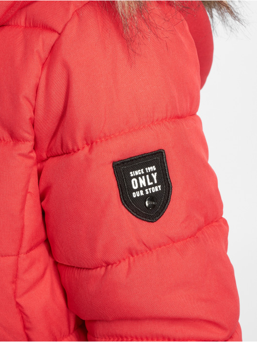 Only Manteau onlNorth rouge