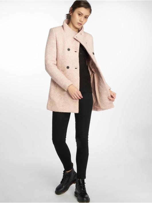 Only Mantel onlSophia Boulce Wool rosa