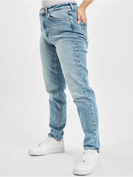 Only Mom Jeans onlVeneda Life Rea7452 Noos blau