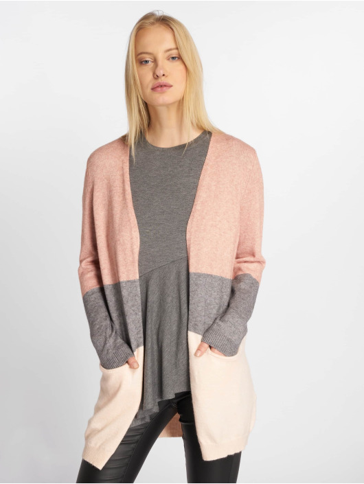Only Neuleet onlQueen Long Knit roosa