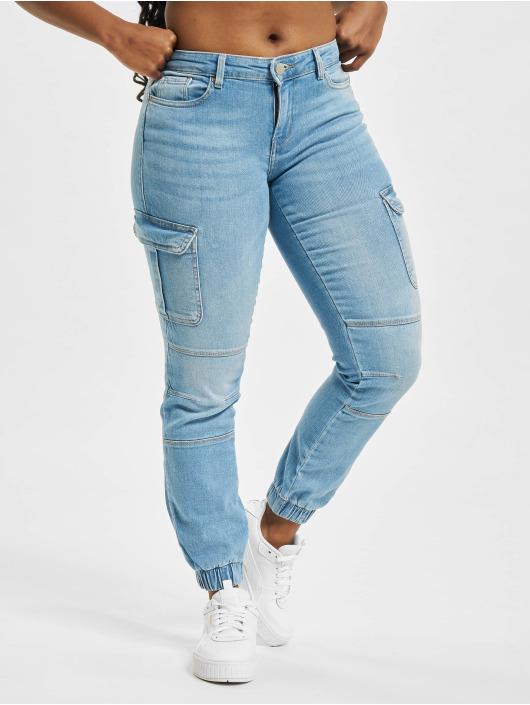 Only Pantalon cargo onlMissouri Life Reg Ankle BB AZG720 bleu