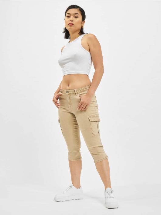 Only Pantalon cargo Only onlMissouri Reg Life Knickers brun