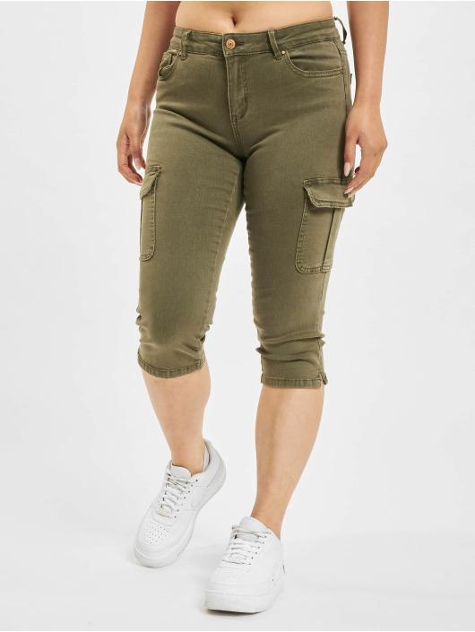 Only Pantalon cargo Only onlMissouri Reg Life Knickers olive