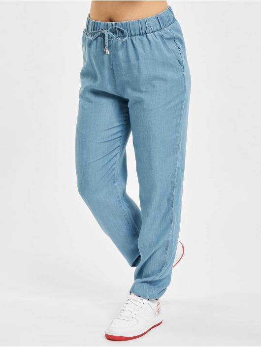 Only Pantalon chino onlTessa Mid bleu