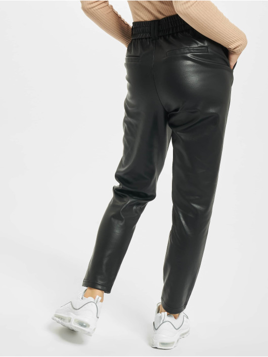 Only Pantalon chino onlPoptrash Easy Coated Noos noir