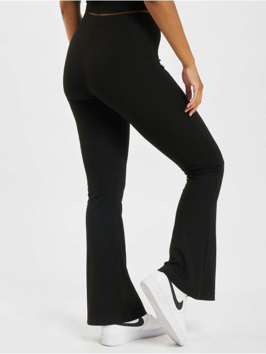Only Pantalon chino onlNella Flared CS JRS noir
