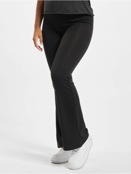 Only Pantalon chino Onlfever Stretch Flaired noir