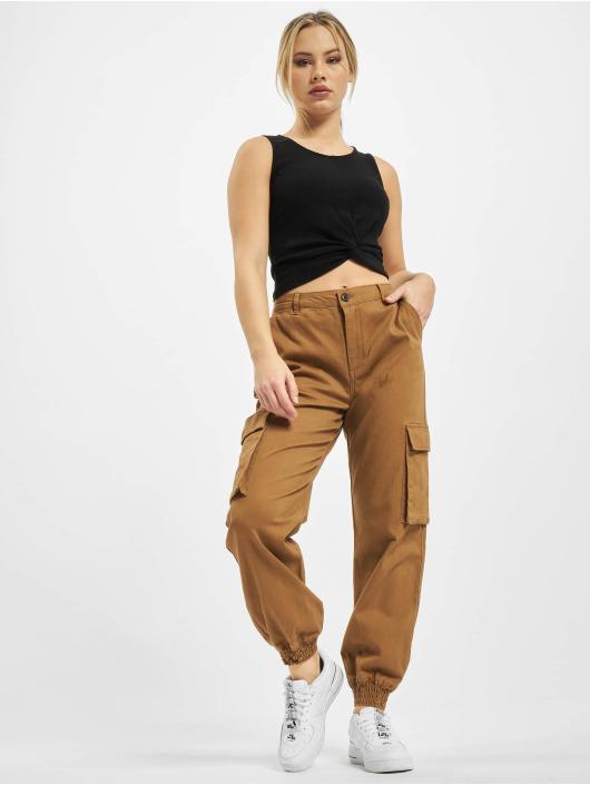 Only Pantalone Cargo onlMadea-Tiger Life Mw marrone