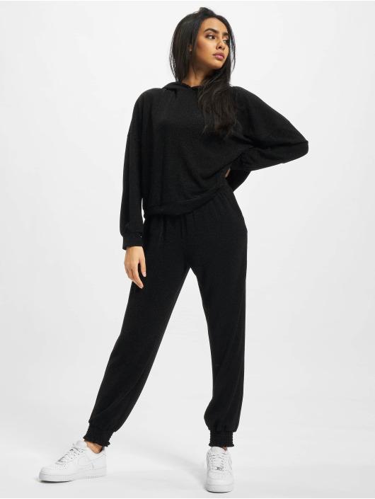 Only Pantalone ginnico Onlvera Glitter nero