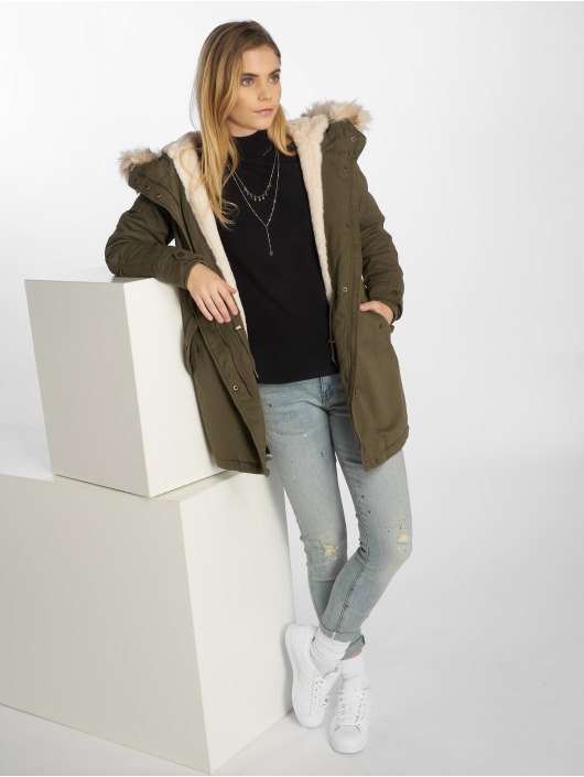 Only Parka onlMay oliwkowy