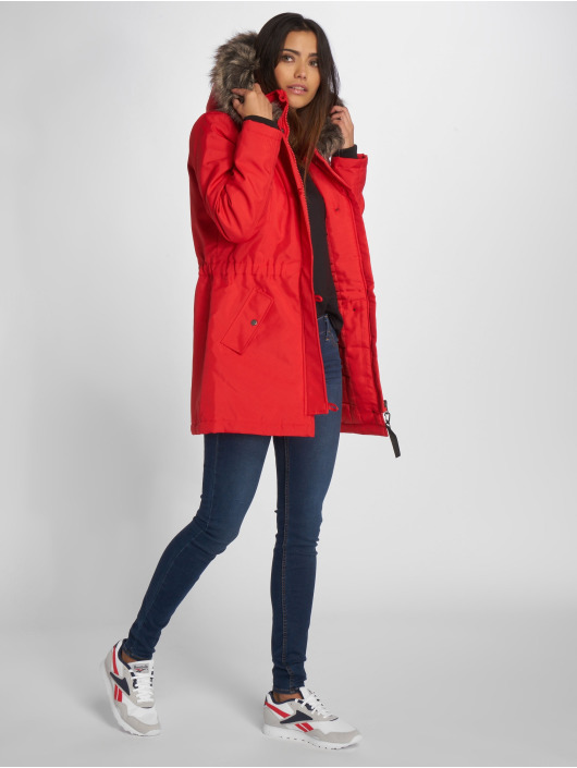 Only Parka onlIris AW rosso