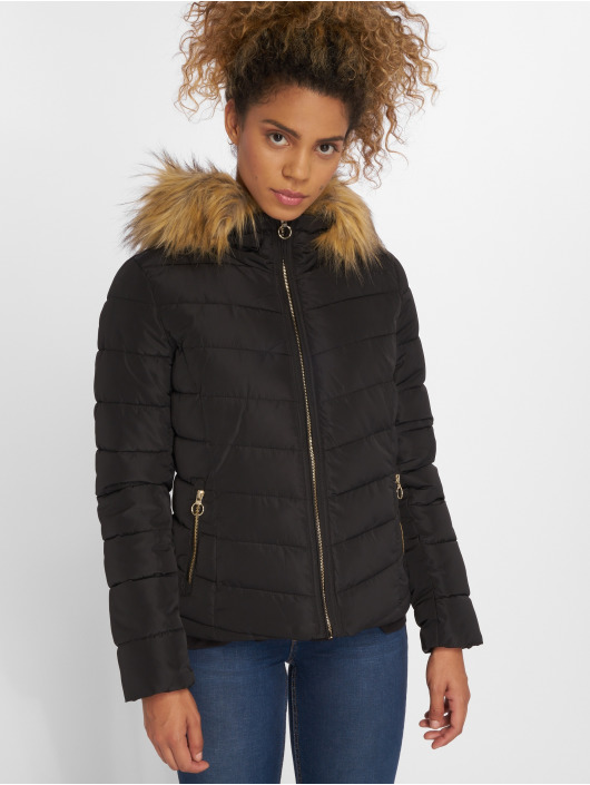 Only Puffer Jacket onlNew Ellan Quilted black
