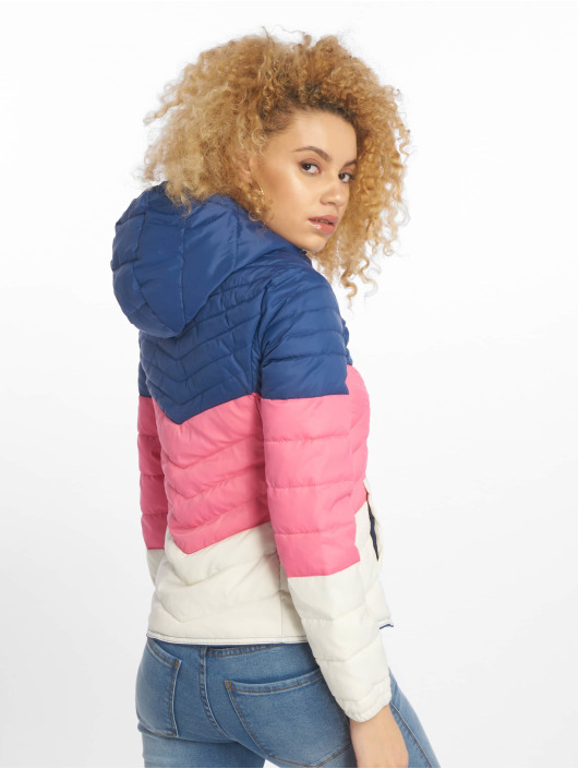 Only Puffer Jacket onlDemi Blocked blue