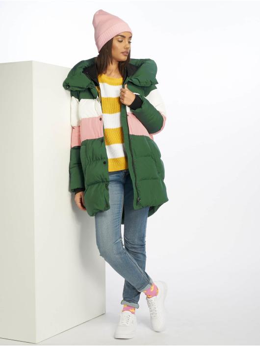 Only Puffer Jacket onlMari Blocked Padded green