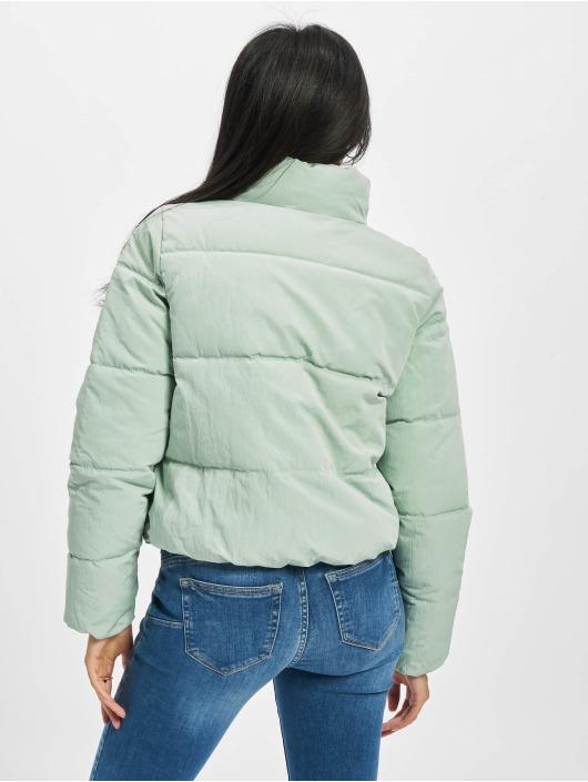 Only Puffer Jacket Onldolly Short grün