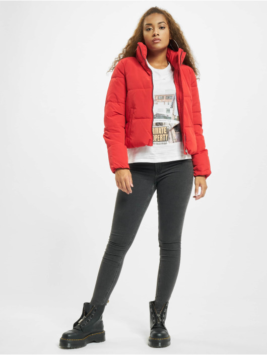 Only Puffer Jacket onlDolly Short Noos rot