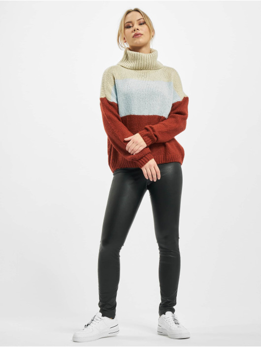 Only Pullover onlManhattan Rollneck Knit beige