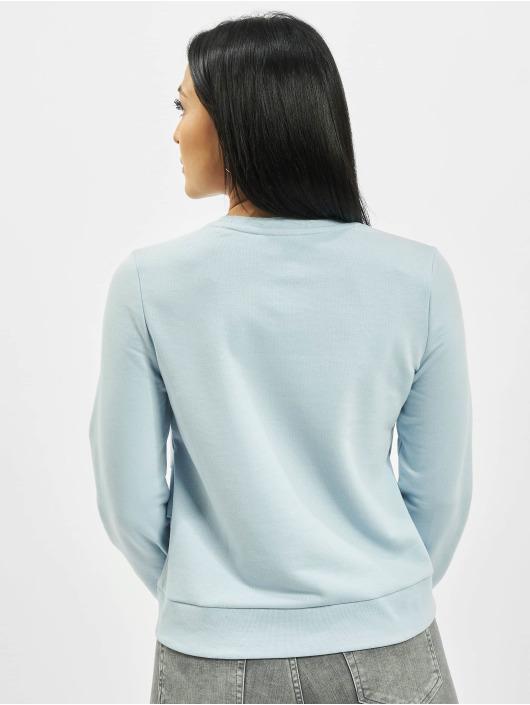 Only Pullover onlNahita Life Wrap blau