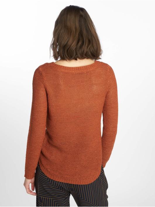 6d584e56fcbe69 Only Damen Pullover onlGeena Xo in braun 519997