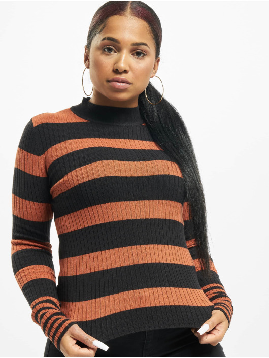 Only Pullover onyAlexa Stripe braun