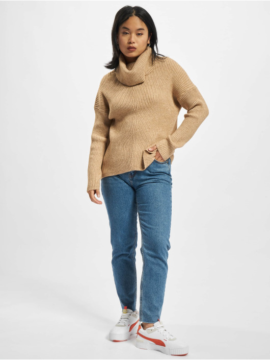 Only Pullover Katia brown