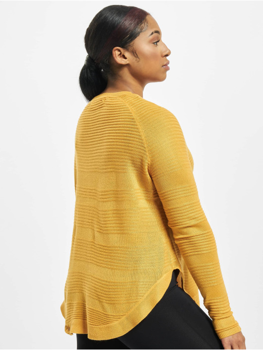 Only Pullover onlCaviar Knit gelb