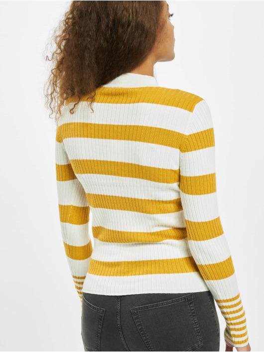 Only Pullover onyAlexa Stripe gelb