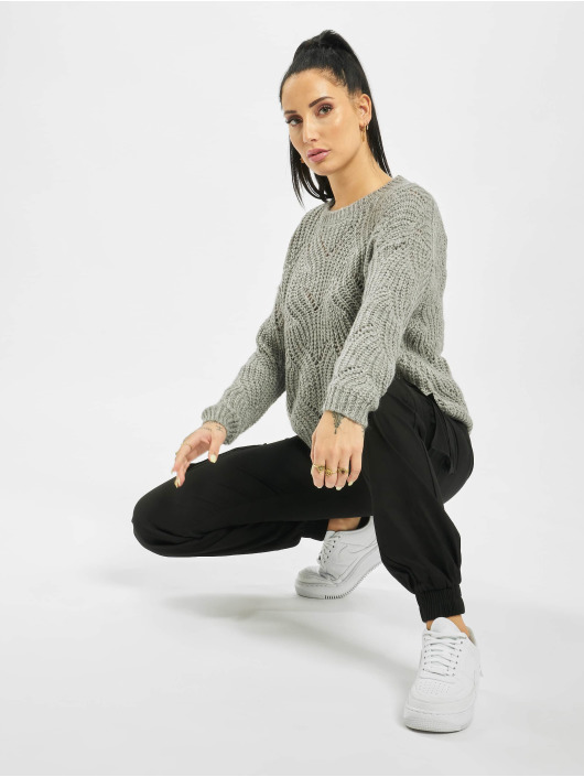 Only Pullover onlHavana Knit NOOS grau