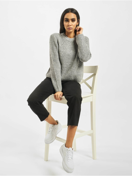 Only Pullover onlFiona Knit grau