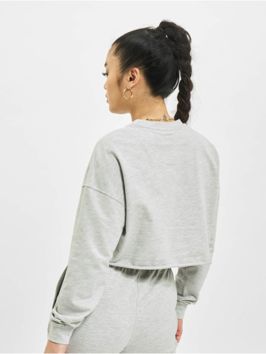 Only Pullover onlZoey Life Cropped grau