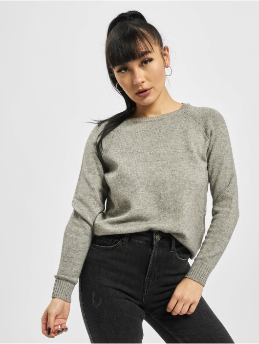 Only Pullover onlLesly Kings Noos Knit gray